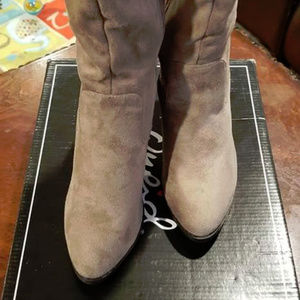 4/$20 - Over-the-Knee Boots - Taupe - Size 6
